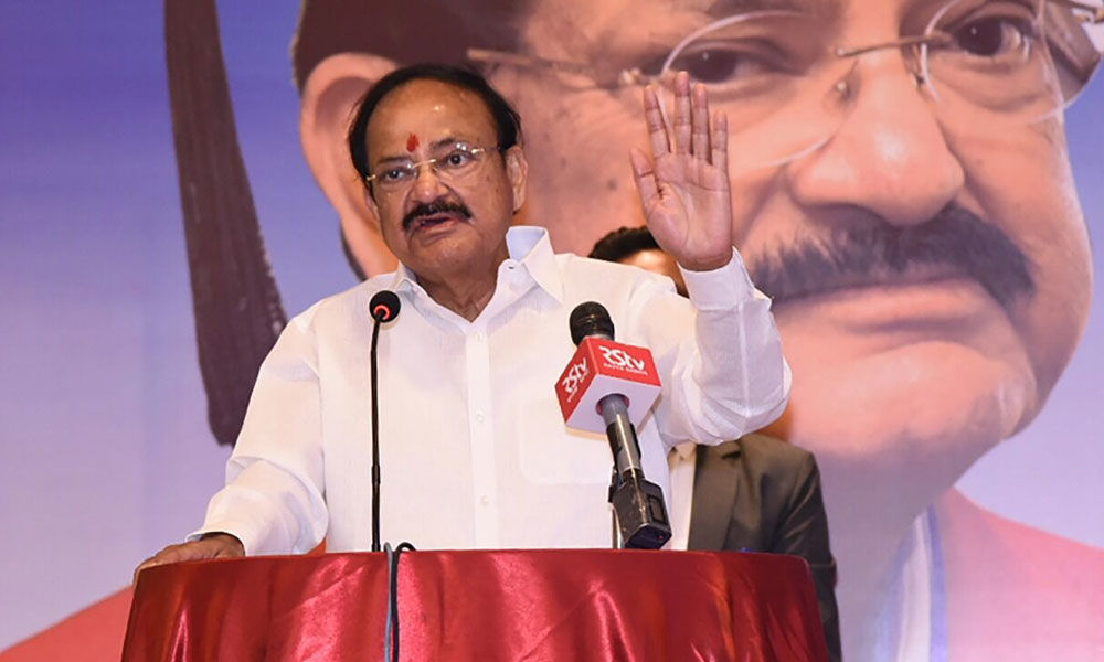 Defections disturbing in a democracy: Venkaiah