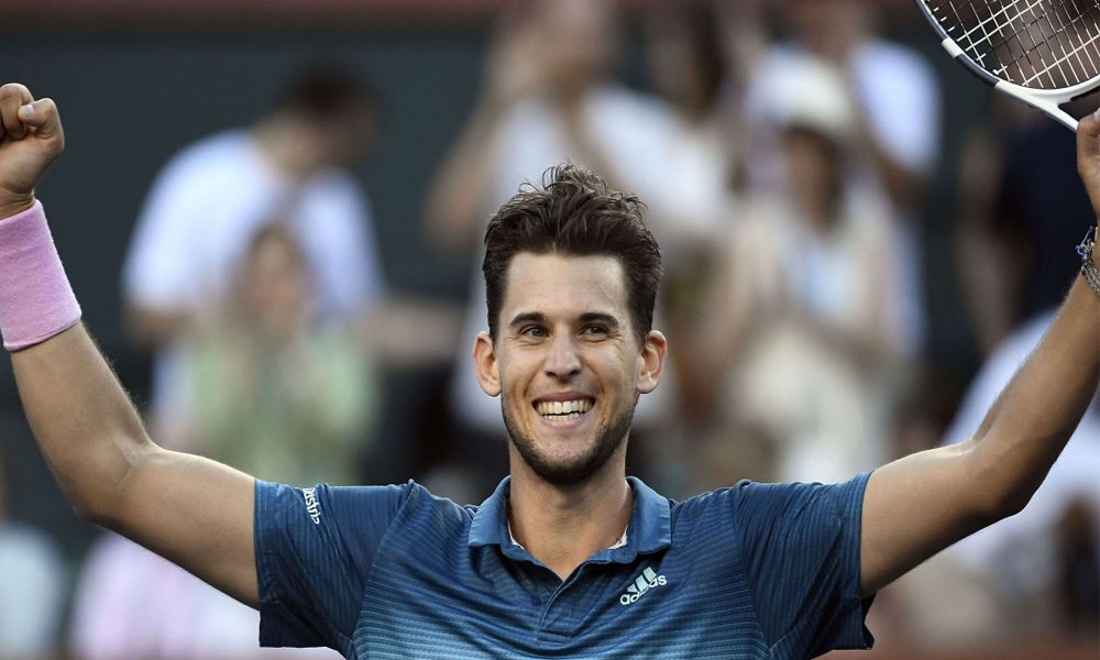 Thiem comes back from setdown to defeat Federer and claim 1st Indian Wells Title