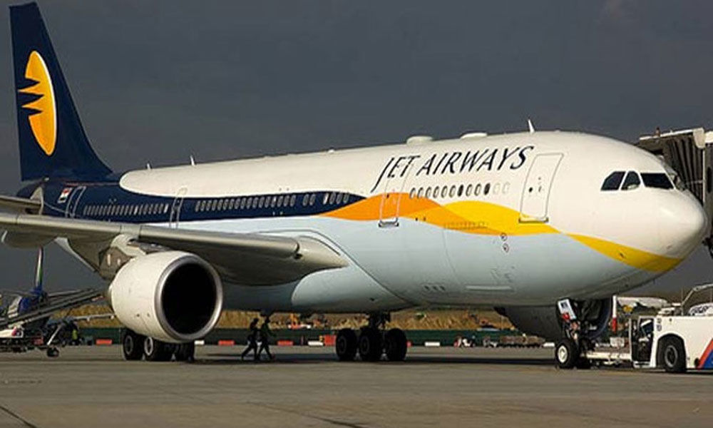 Jet Airways grounds its operations in Abu Dhabi Airport