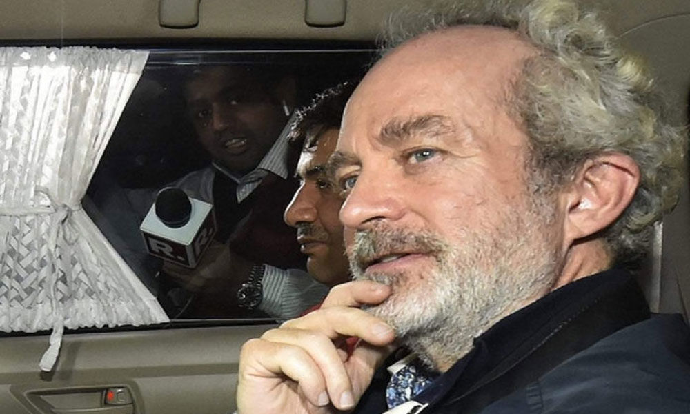 VVIP chopper case: HC issues notice on plea allowing Michel to make phone calls