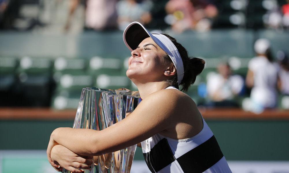 Indian Wells Open: Bianca Andreescu upsets Angelique Kerber, grabs her first title