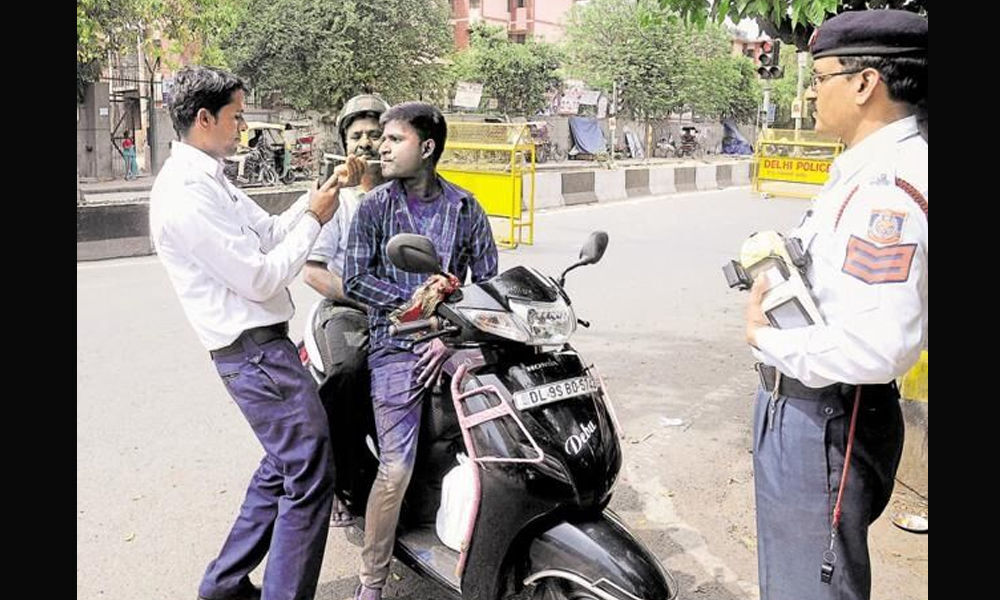 Holi campaign to check drunk & drive