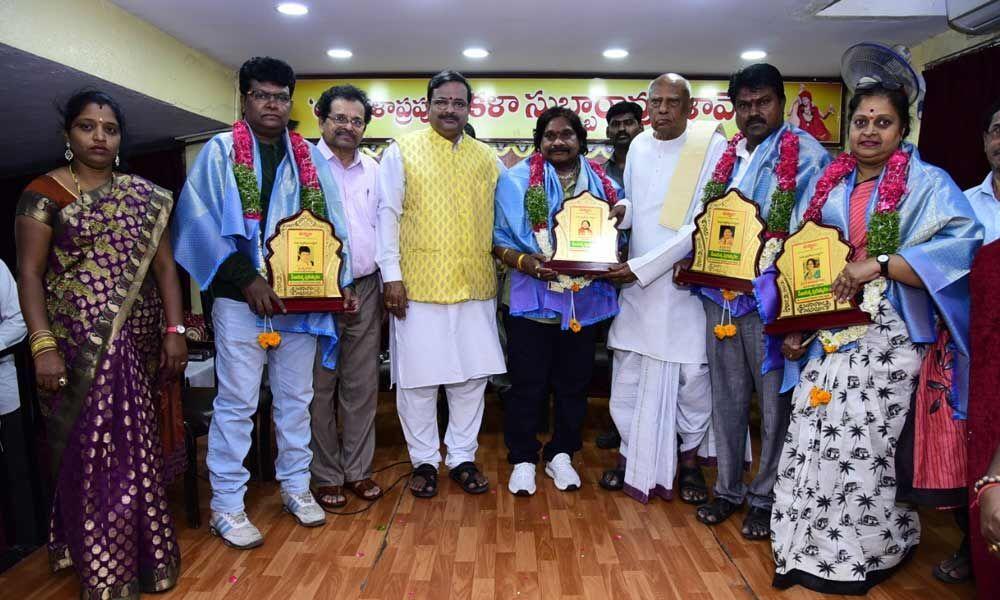 Social activist, choreographers receive Seva Ratna Awards