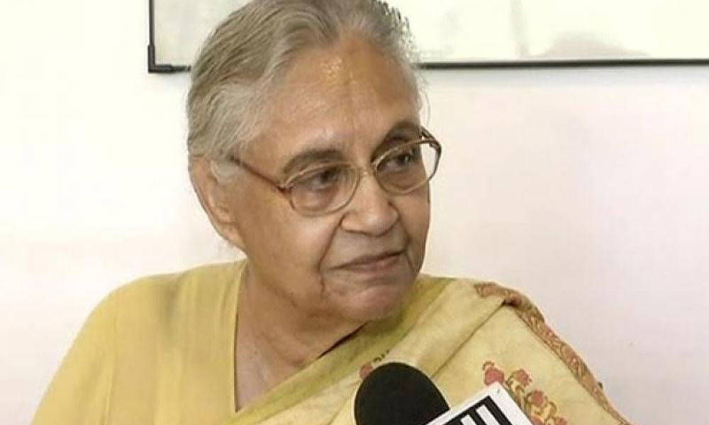 Sheila Dikshit writes to Rahul, says coalition with AAP will
