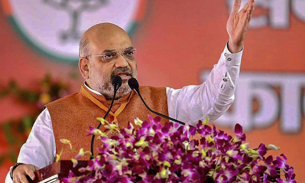 Amit Shah attacks Rahul for arrest of techies for raising pro-Modi slogans