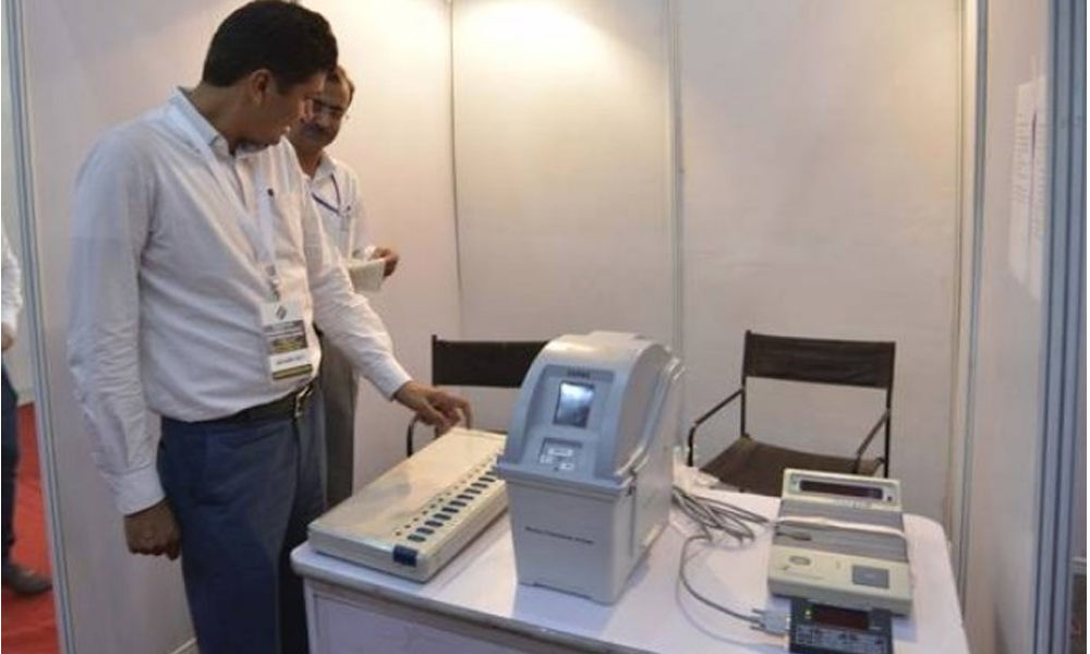 Now you can verify your vote using VVPAT