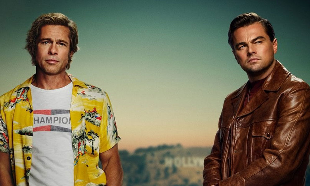 Once Upon A Time In Hollywood Stars Brad Pitt And Leonardo DiCaprio