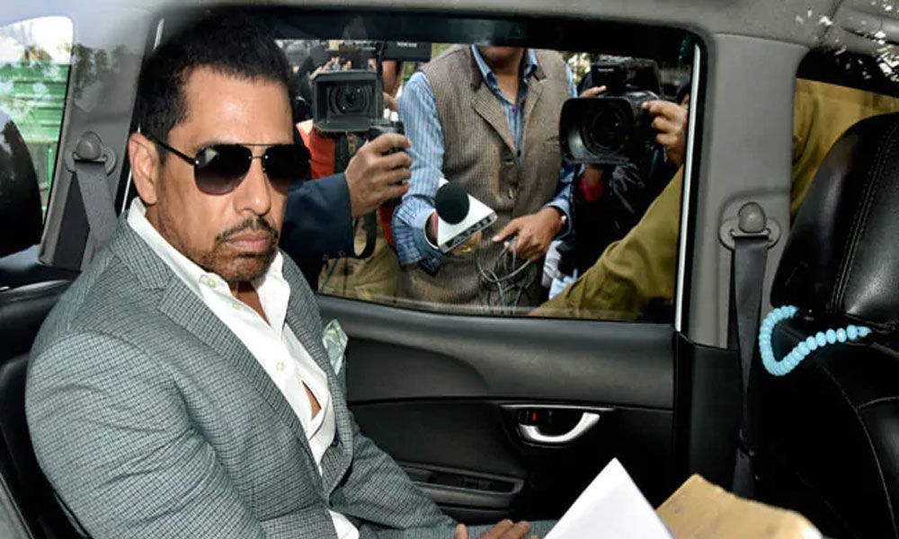 Court extends Robert Vadras anticipatory bail till March 25