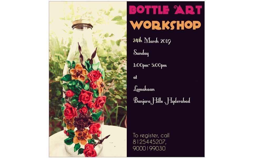 One-day Bottle Art workshop