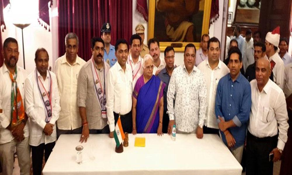 Goa Assembly session for BJP-led govts floor test begins