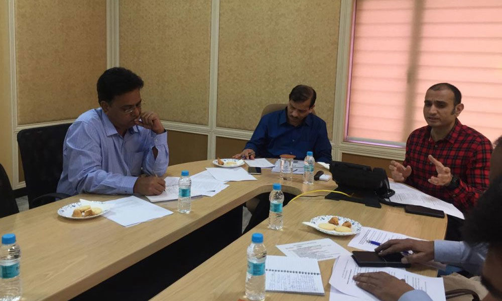 Foreign delegates study functioning of Civil Supplies Dept