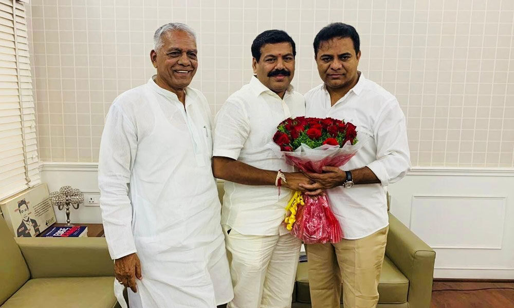 Now, Kollapur Cong MLA to join TRS