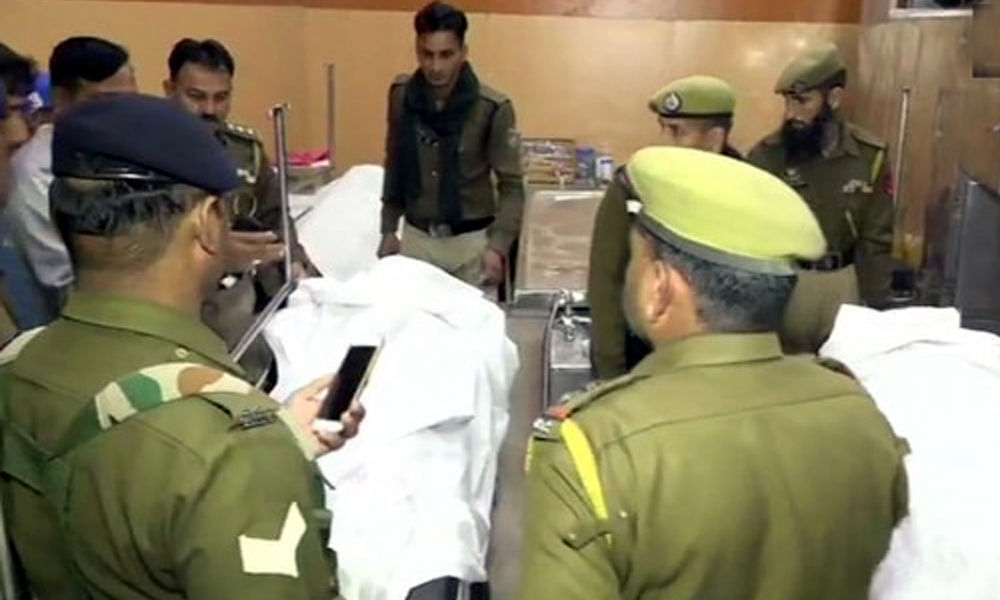 CRPF jawan kills 3 colleagues, shoots self in J&K