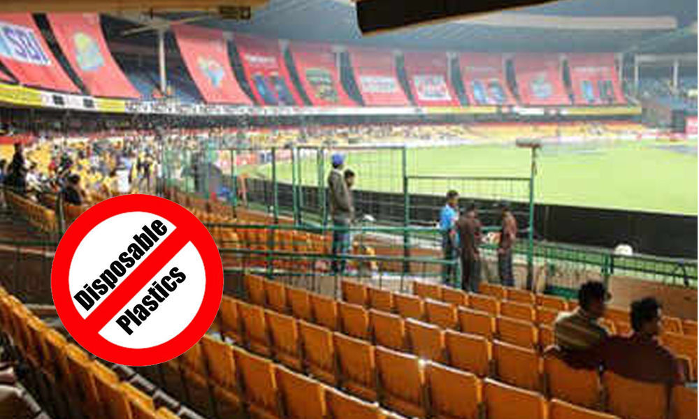 BBMP asks KSCA to ban the use of plastic for the IPL