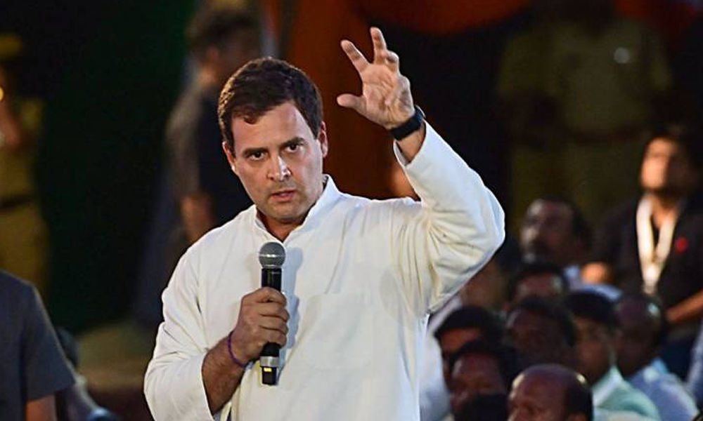 Rahul Gandhis Interaction With Students of Tamil Nadu College Didnt Violate Poll Code: EC
