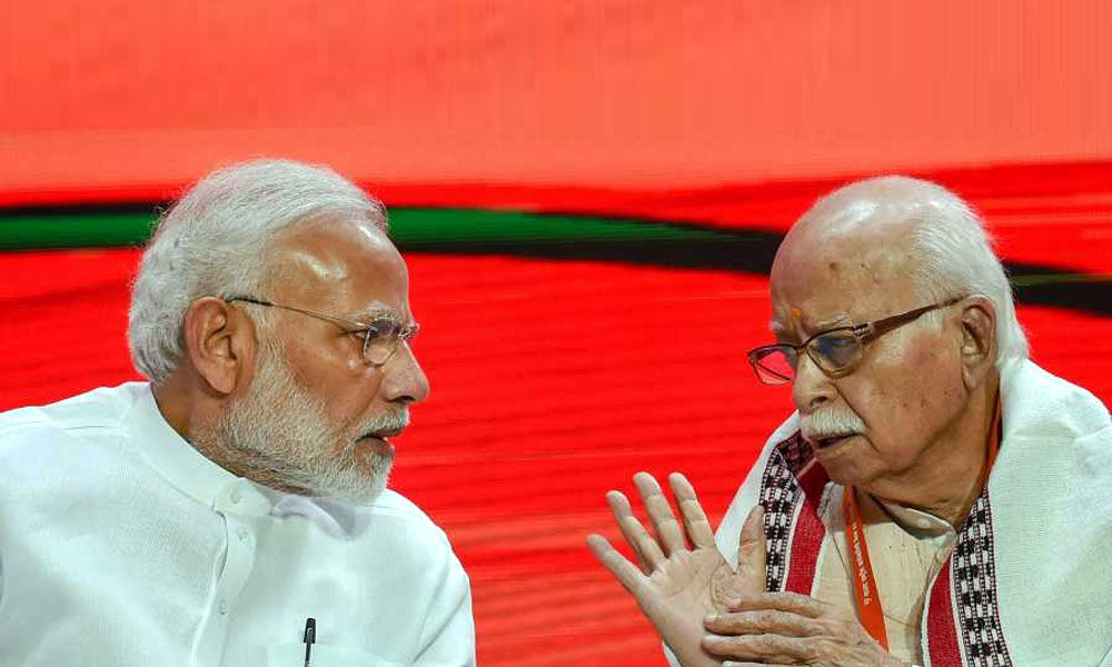 BJP first sent Advani to margdarshak mandal, has now snatched his constituency: Congress
