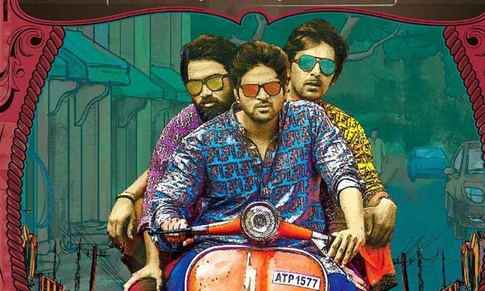 Sree Vishnu on a joyful ride