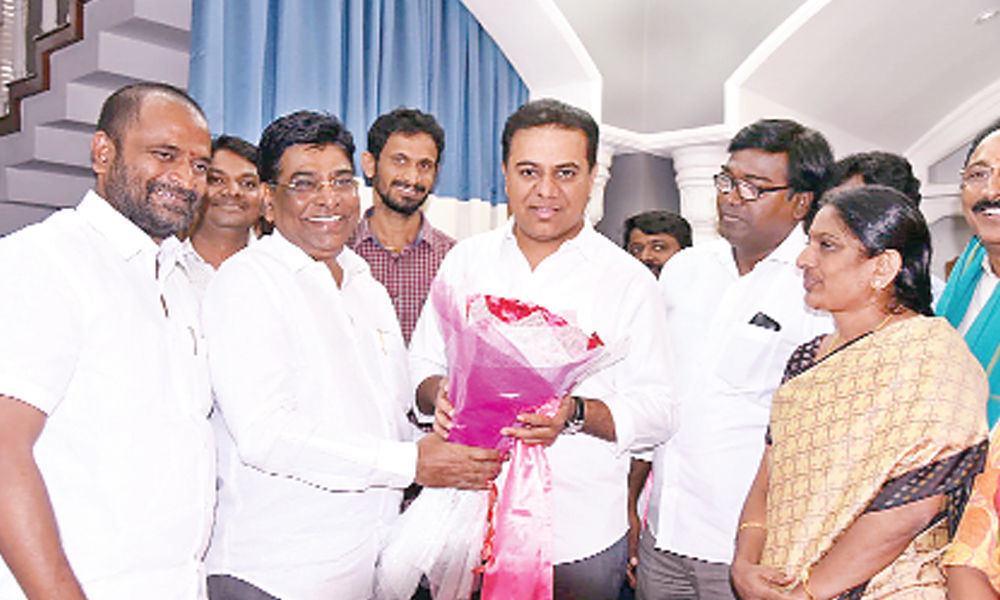 State will be further developed under KCR
