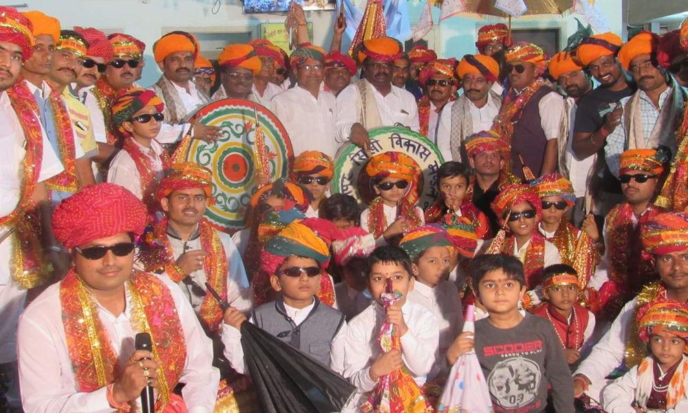 Holi celebrations in Venkatramana Colony