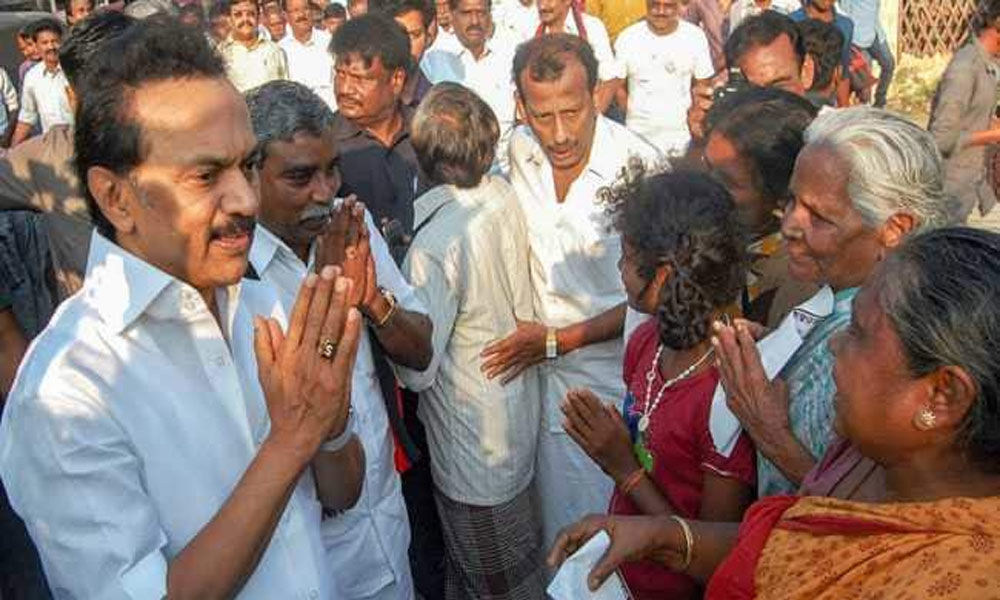 Stalin launches Lok-Sabha campaign in Tiruvarur