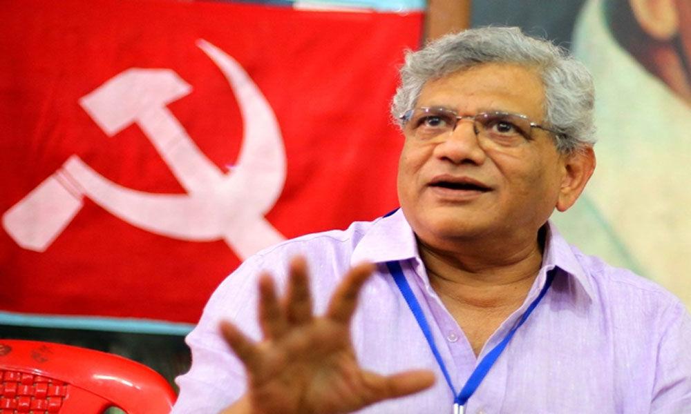 Demonetisation was to whitewash black money: Sitaram Yechury