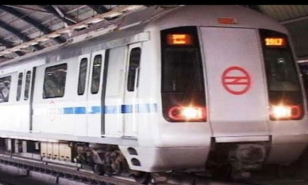 Woman jumps before metro train, dies in Noida