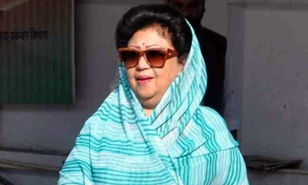 Uttarakhand: Mala Rajya Laxmi Shah, Tirath Singh Rawat file nominations