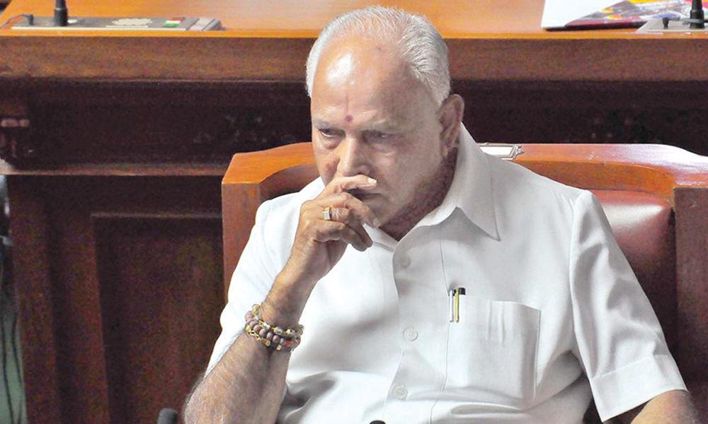 Yeddy paid `1,800 cr to BJP leaders: Report
