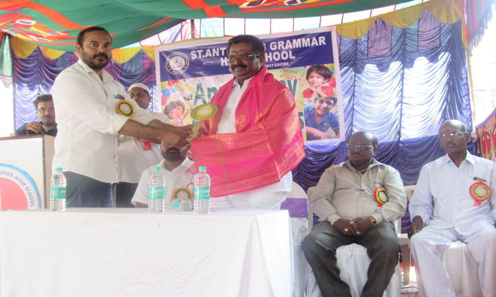 St Anthonys annual day celebrated