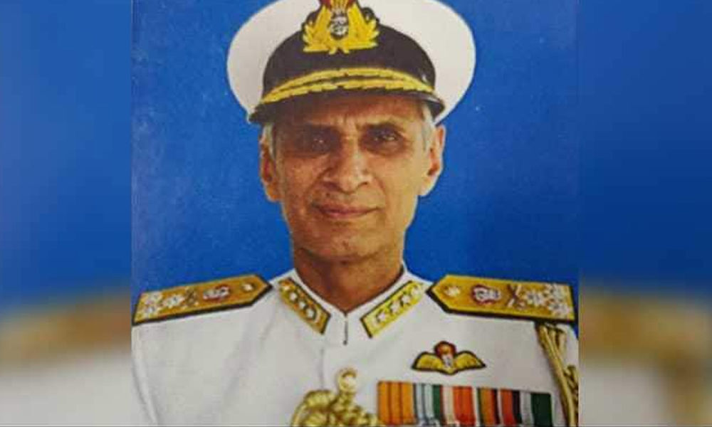 Vice Admiral Karambir Singh appointed new Navy chief