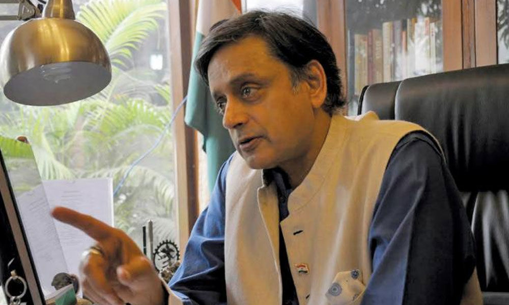 Tharoor challenges PM Modi to contest against him from Trivandrum