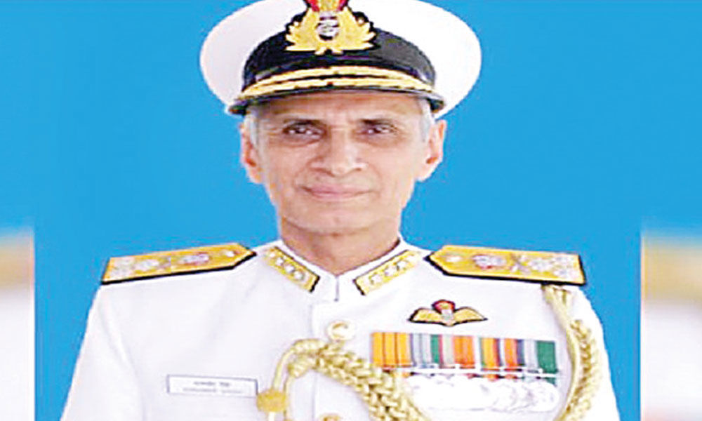 Karambir Singh appointed next Indian Navy chief