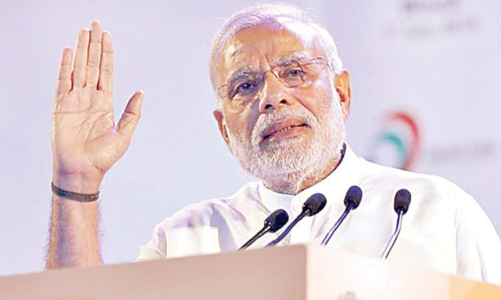 Modi blasts regional parties for bid to form grand alliance