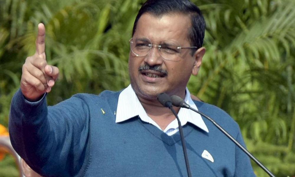 BJP stopped rally through Police: Kejriwal