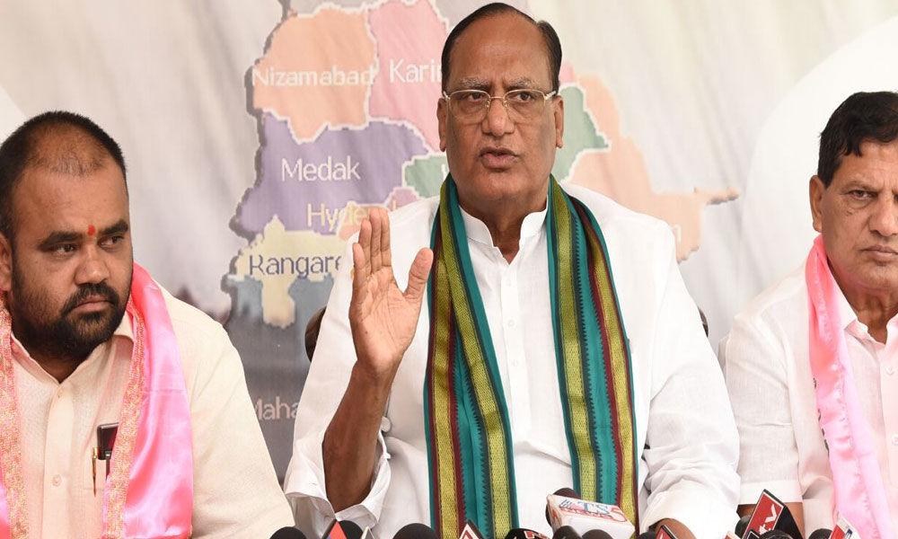 TRS will win all Lok Sabha seats: Gutha
