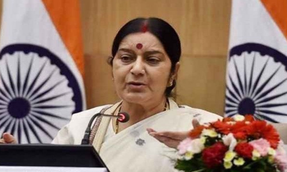 Sushma Swaraj seeks report on 2 Hindu girls abducted and forced to convert to Islam in Pakistans Sindh