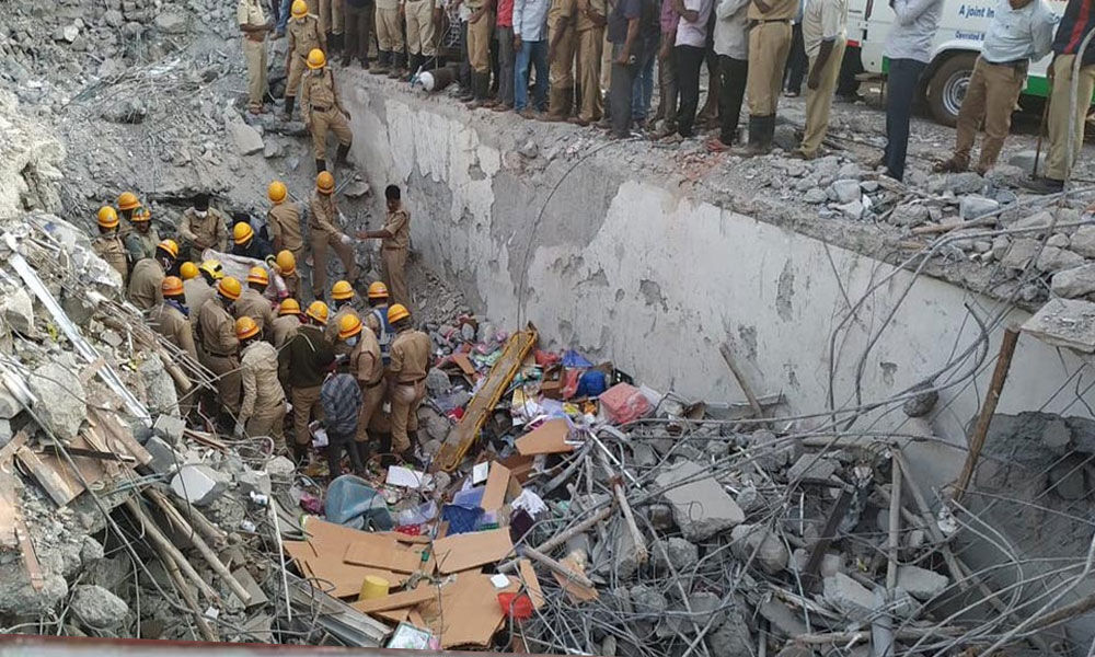 Dharwad building collapse: Death toll rises to 16, rescue operation underway
