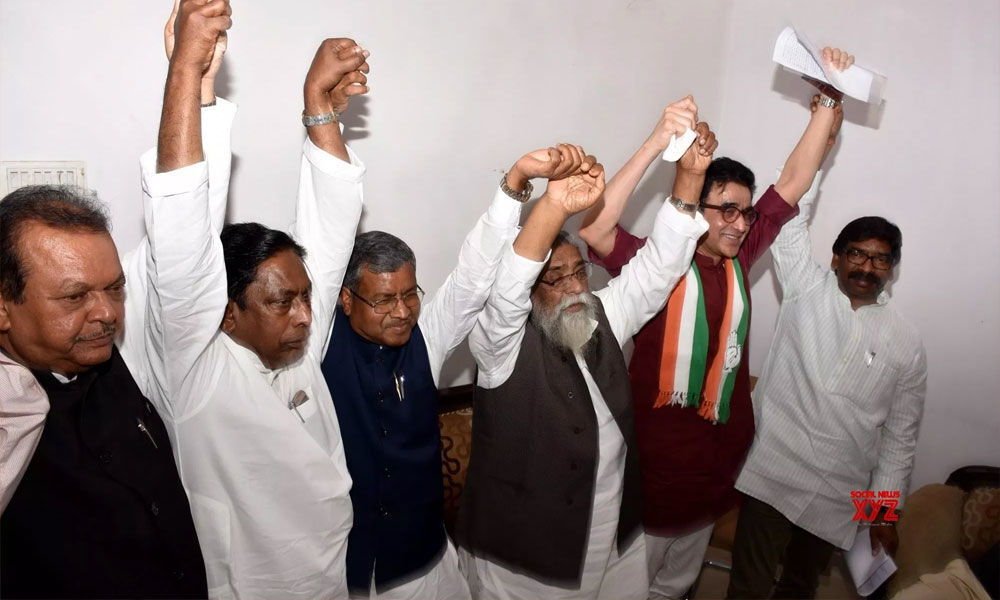 Congress, JMM, JVM-P announce seat sharing, RJD unhappy
