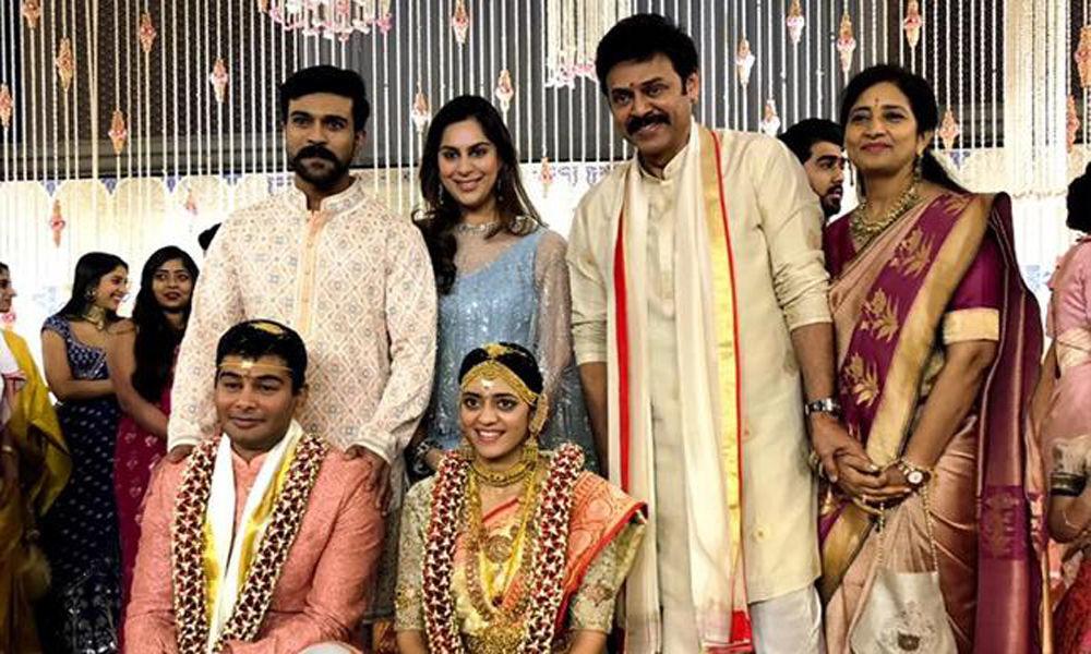 Star-studded wedding fare