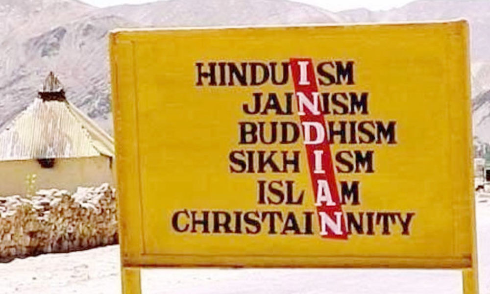 Save secular fabric of our country