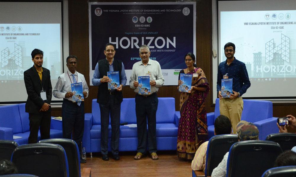 Civil Engineering symposium Horizon at VNRVJIET