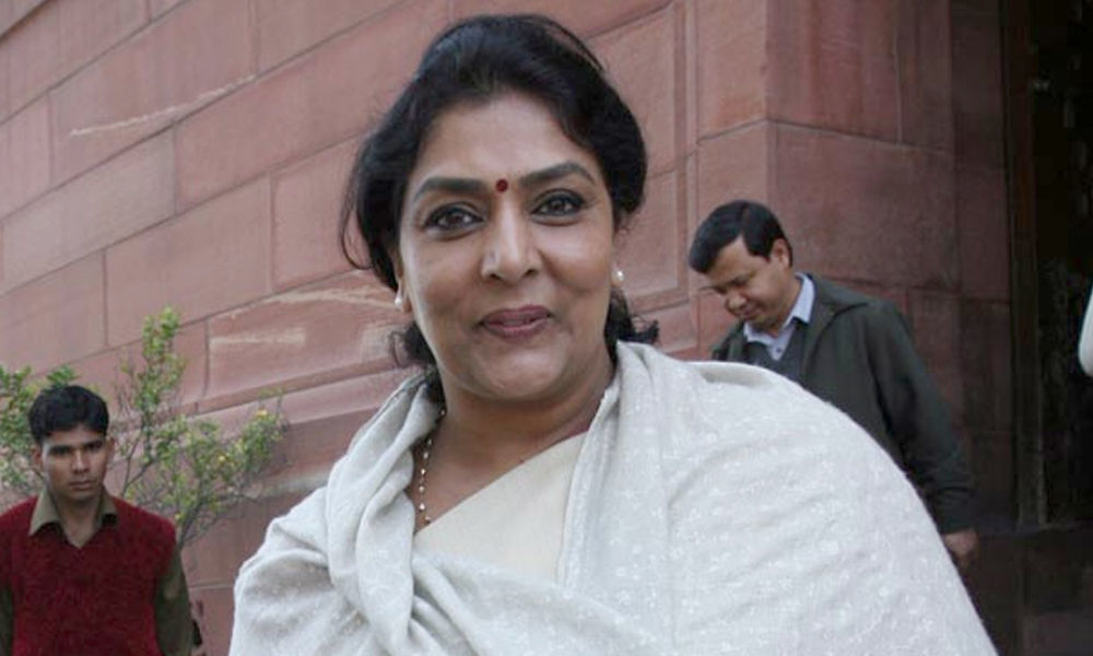 Renuka fires salvos at KCR