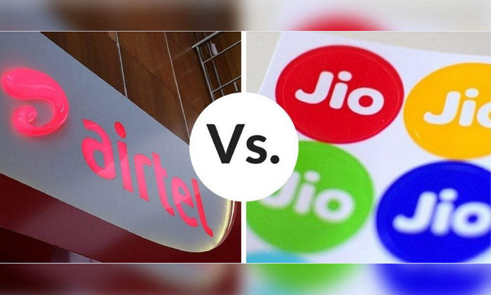 For the first time, Airtel defeats Jio in Mobile Broadband Growth; The VoLTE services of BSNL begin