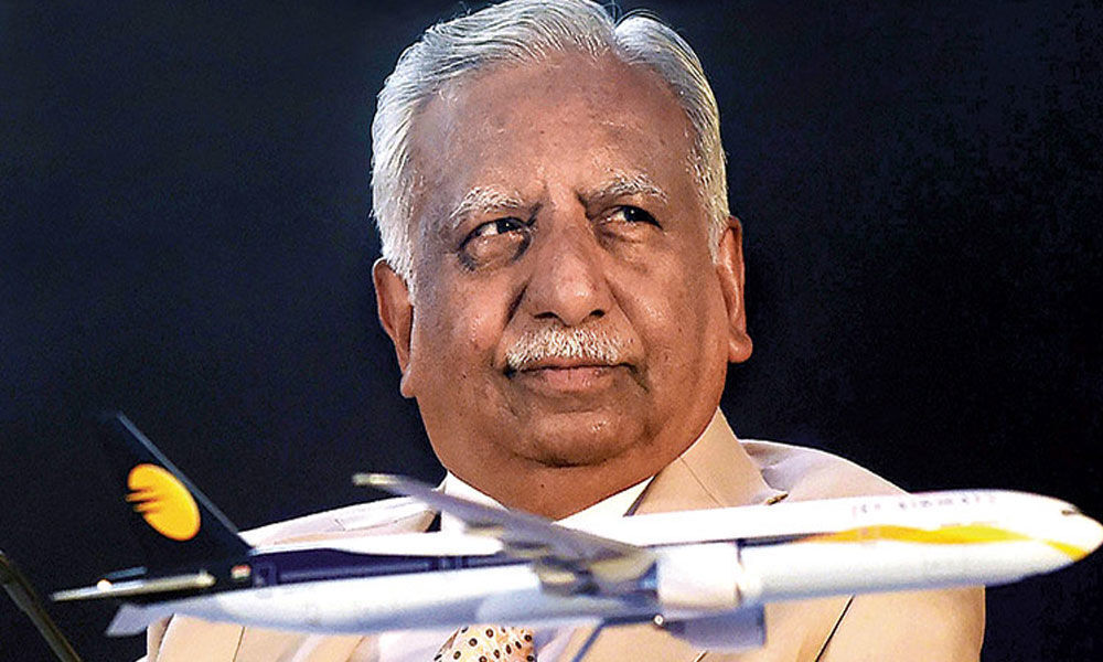 Jet Airways founder Naresh Goyal to quit as chairman on Monday: Report