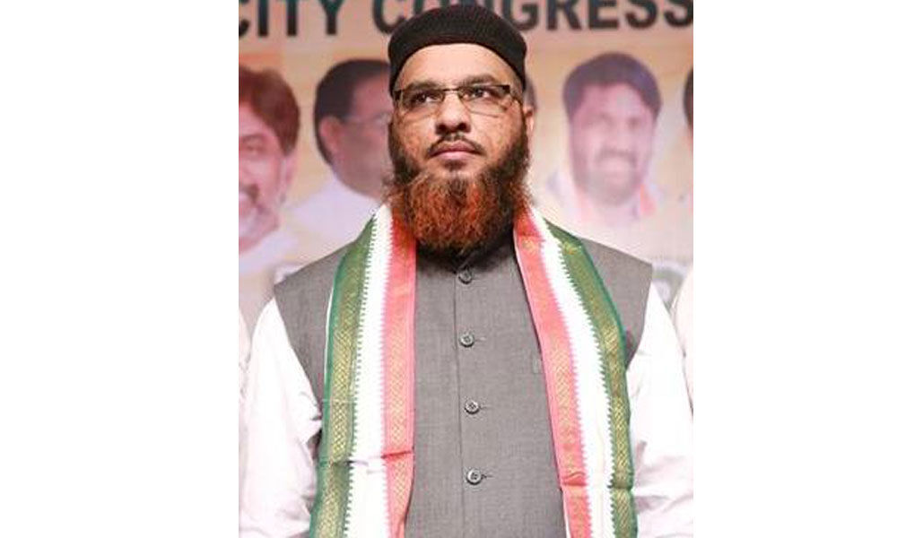 TRS is against political empowerment of Muslims: Congress