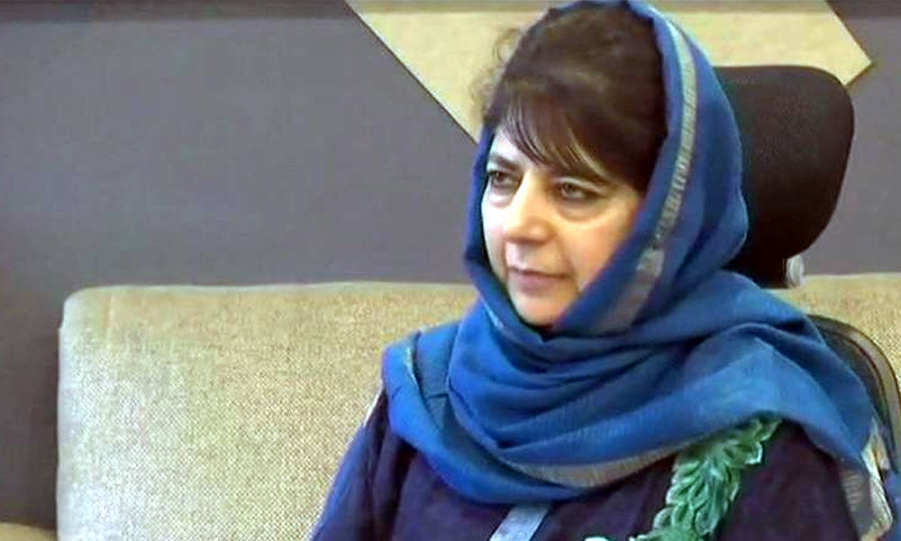 Mehbooba reiterates request to open Sharda Peeth after Pakistan gives green signal
