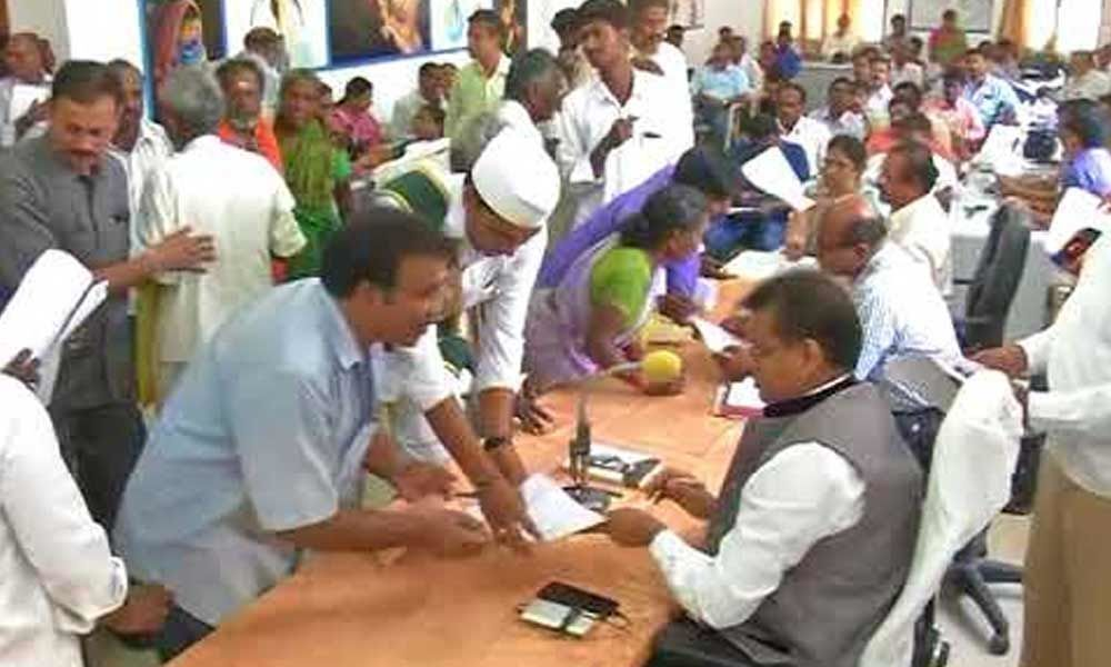 District yet to clear 2,598 pleas received during Grievance Day
