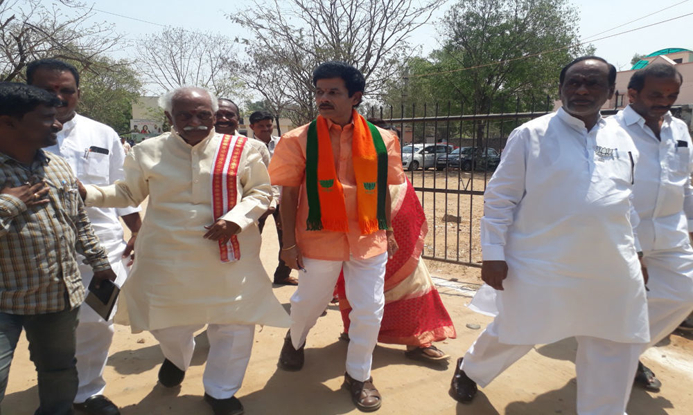 BJR in foray as BJP face from Chevella