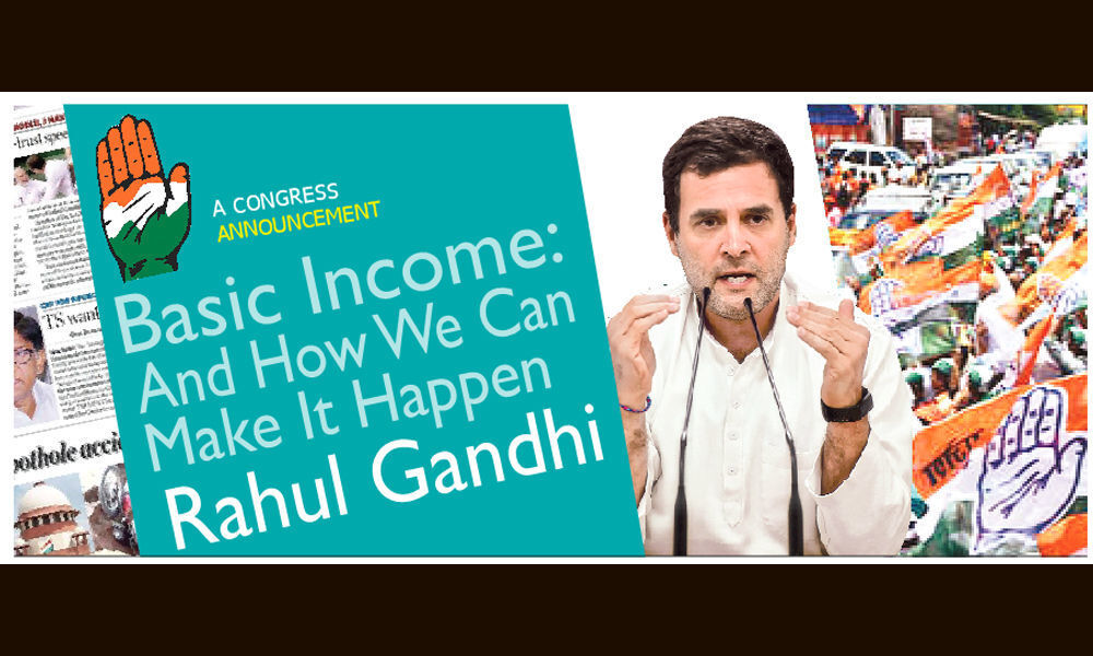 Congress Promise 72k/Yr For 20% Poor