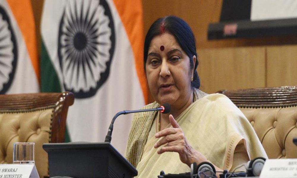 Sushma Swaraj asks Pakistan to return abducted Hindu girls to family